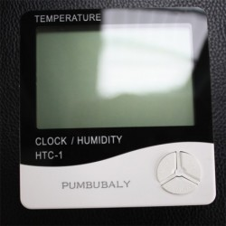 PUMBUBALY Indoor thermometer digital hygrometer humidity gauge